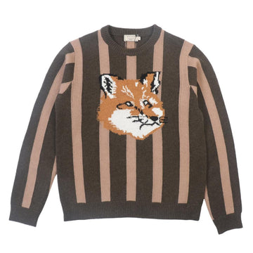 Pullover Stripes Fox Head Ecru/Khaki (Men)