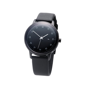 SK01 SS Black Mirror Finish Black Dial
