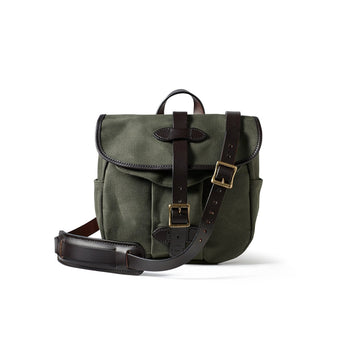 small rugged twill field bag otter green