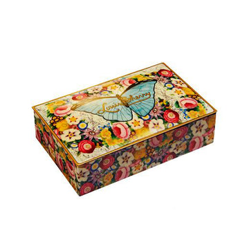 12 piece Chocolate Tins (Butterfly By John Derian)