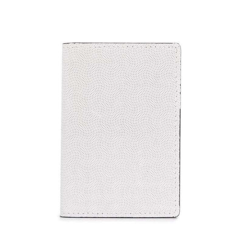 Folio Wallet White Embossed