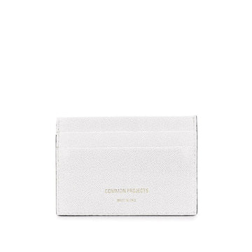 Multi Card Holder White Embossed
