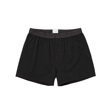 Superfine 1 Button Short Black