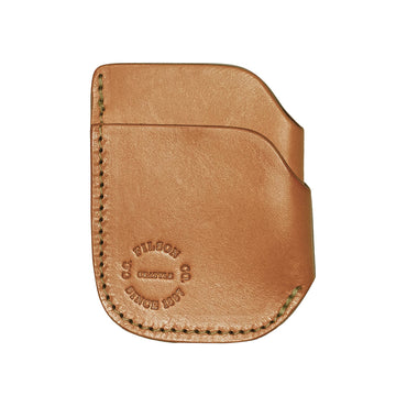 Front Pocket Cash & Card Case Tan Leather OS