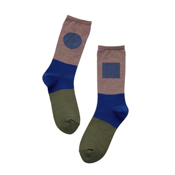 Socks One Pair Man Light Brown OS