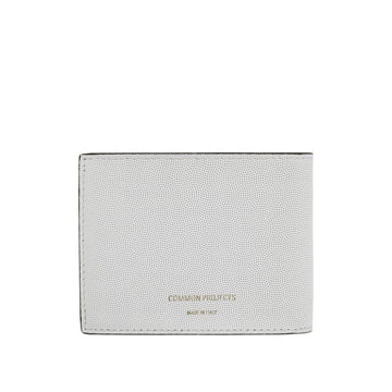 Standard Wallet White Embossed
