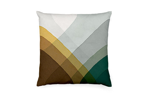 Herringbone Pillow (Brown)