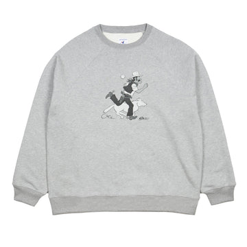 Hand Printed Sweater Cowboy & Coyote (Men)
