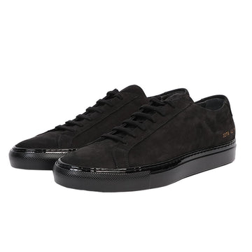 Achilles in Nubuck Lux Black (Men)