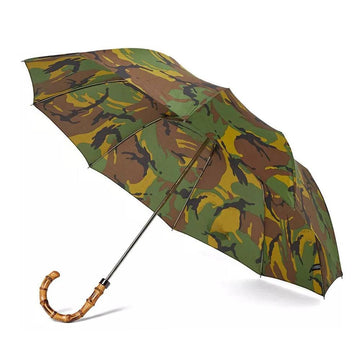 British Wood Camo Whangee Telescopic
