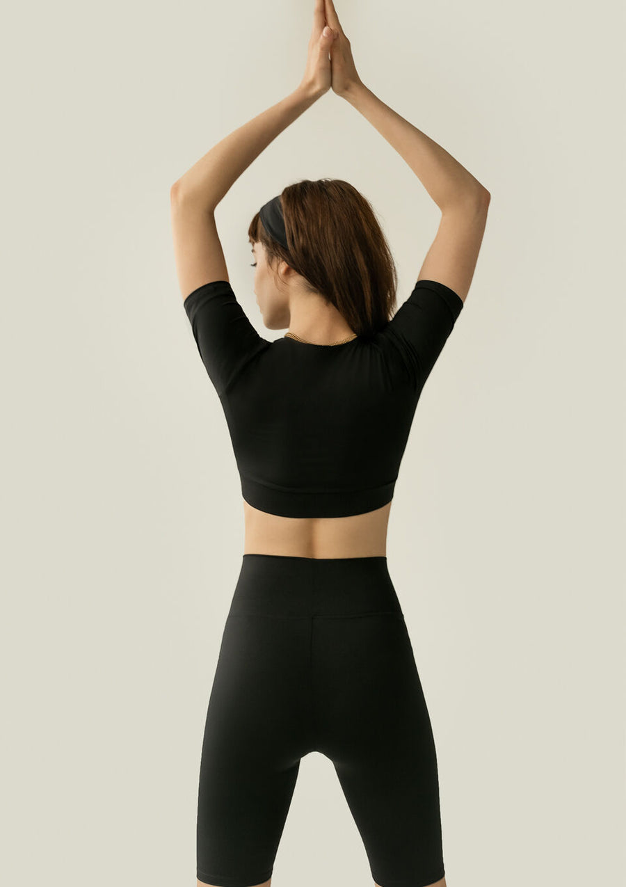 Barre Top Black