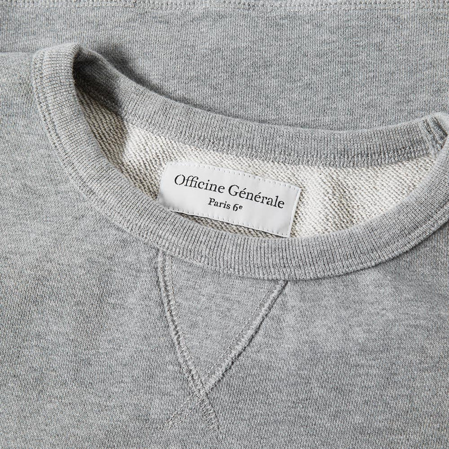 Clement Sweatshirt French Terry Mid Grey