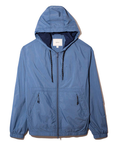 Jacket Lanier Hooded Blue