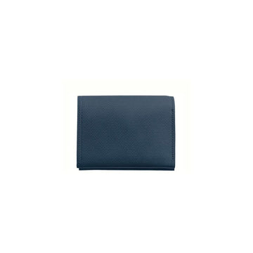Crossgrain Leather Roll Wallet Cobalt Blue