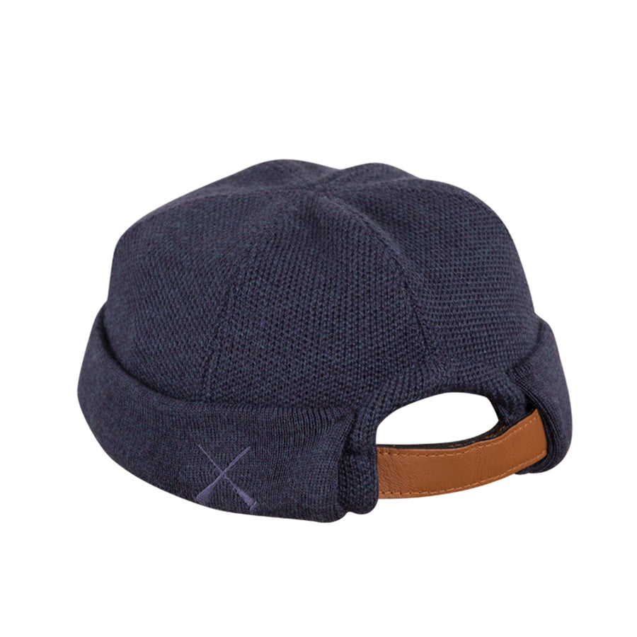 Miki Knit Wool Navy