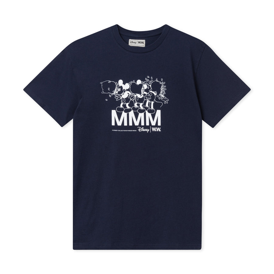Wood Wood X Disney 2020 Bobo Tee Navy