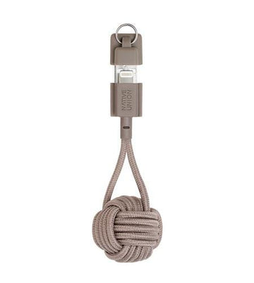 Key Cable Lightning Taupe