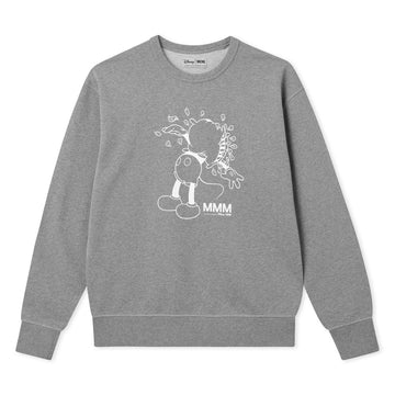 Wood Wood X Disney 2020 Hugo Sweatshirt Grey Melange