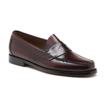 Logan Moc Leather Wine (men)
