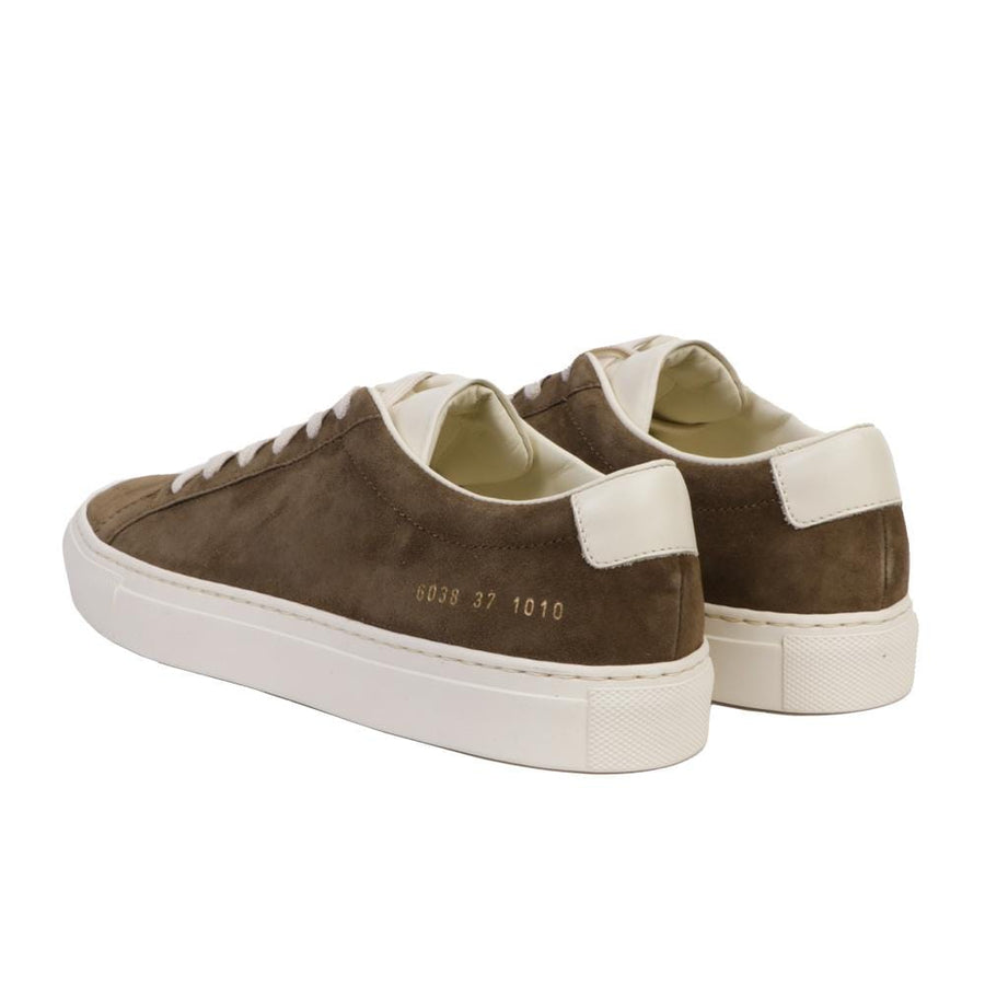 Achilles in Suede Contrast Olive (Women)