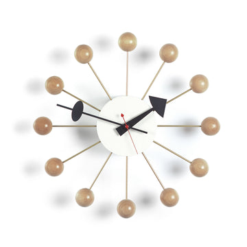 Ball Clock Natural (330mm)