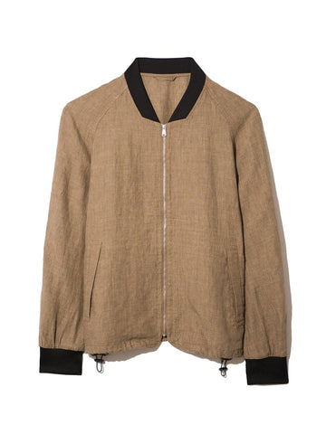Jacket Lora Bomber Light Brown