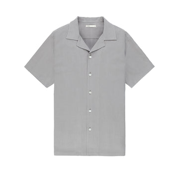 SS Shirt Rockaway Silk Grey