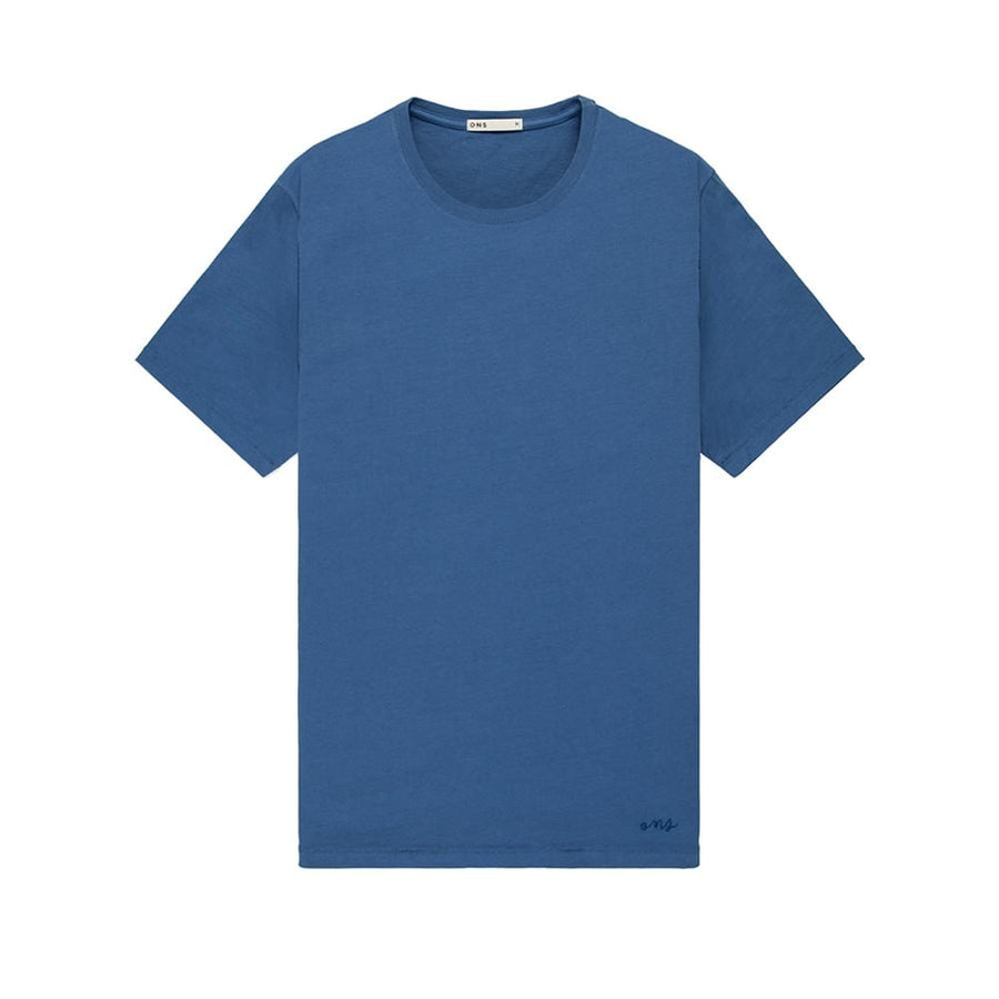 SS Tee Village Crew Neck Cobalt Blue