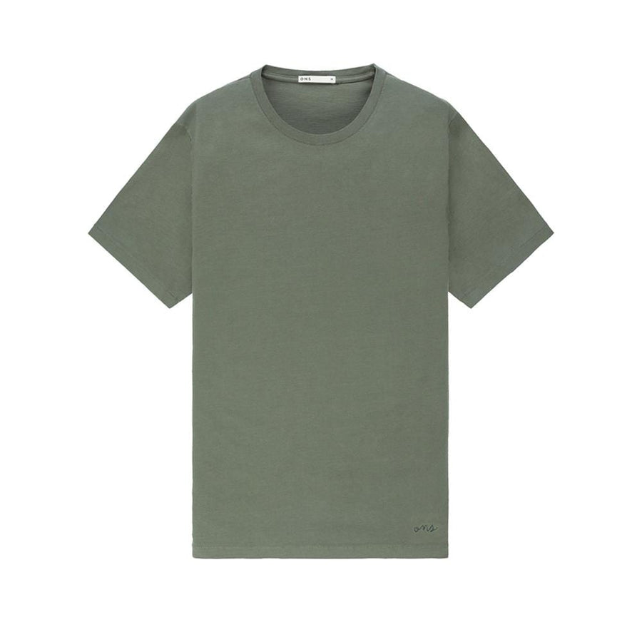 SS Tee Village Crew Neck Olive
