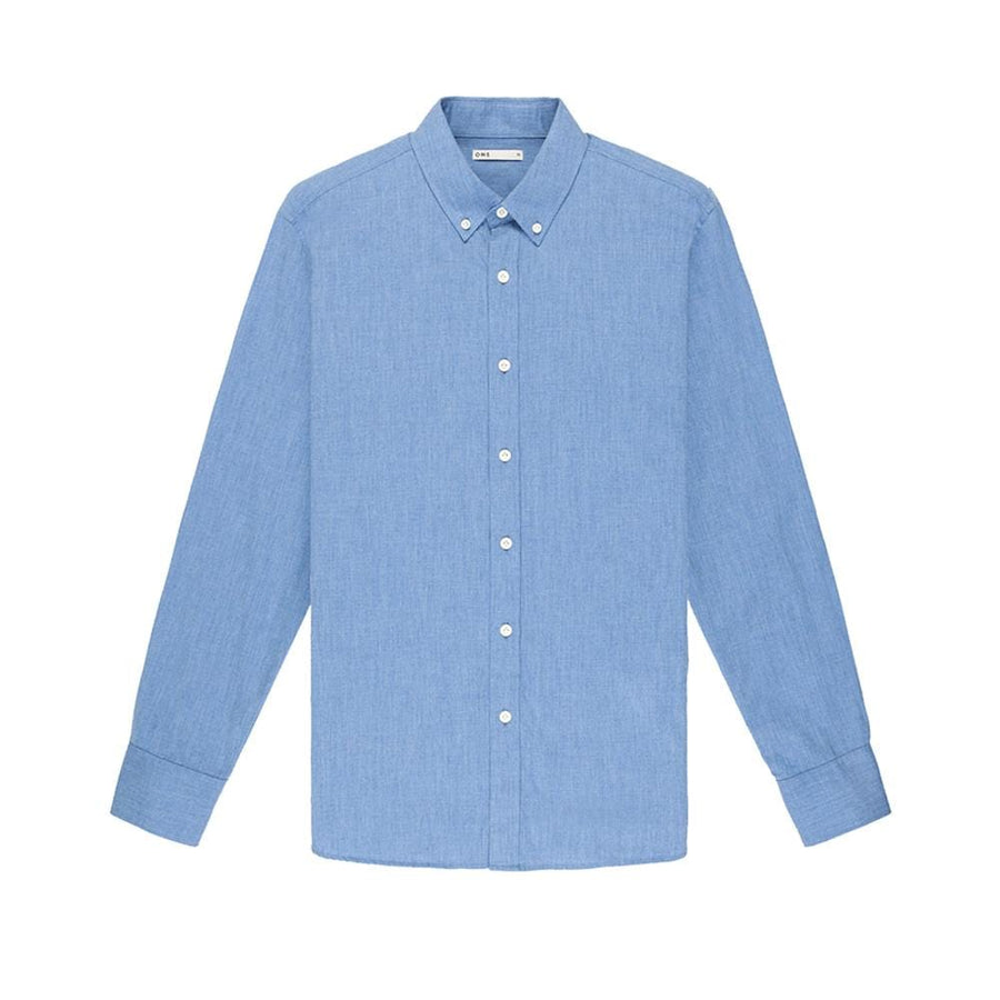 LS Shirt Fulton Oxford Blue