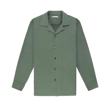LS Shirt Rockaway Long Sleeve Silk Olive