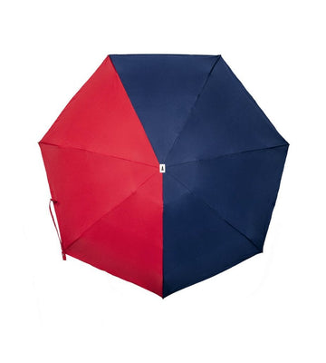 Folding Umbrella - Emile - (Navy/Red)