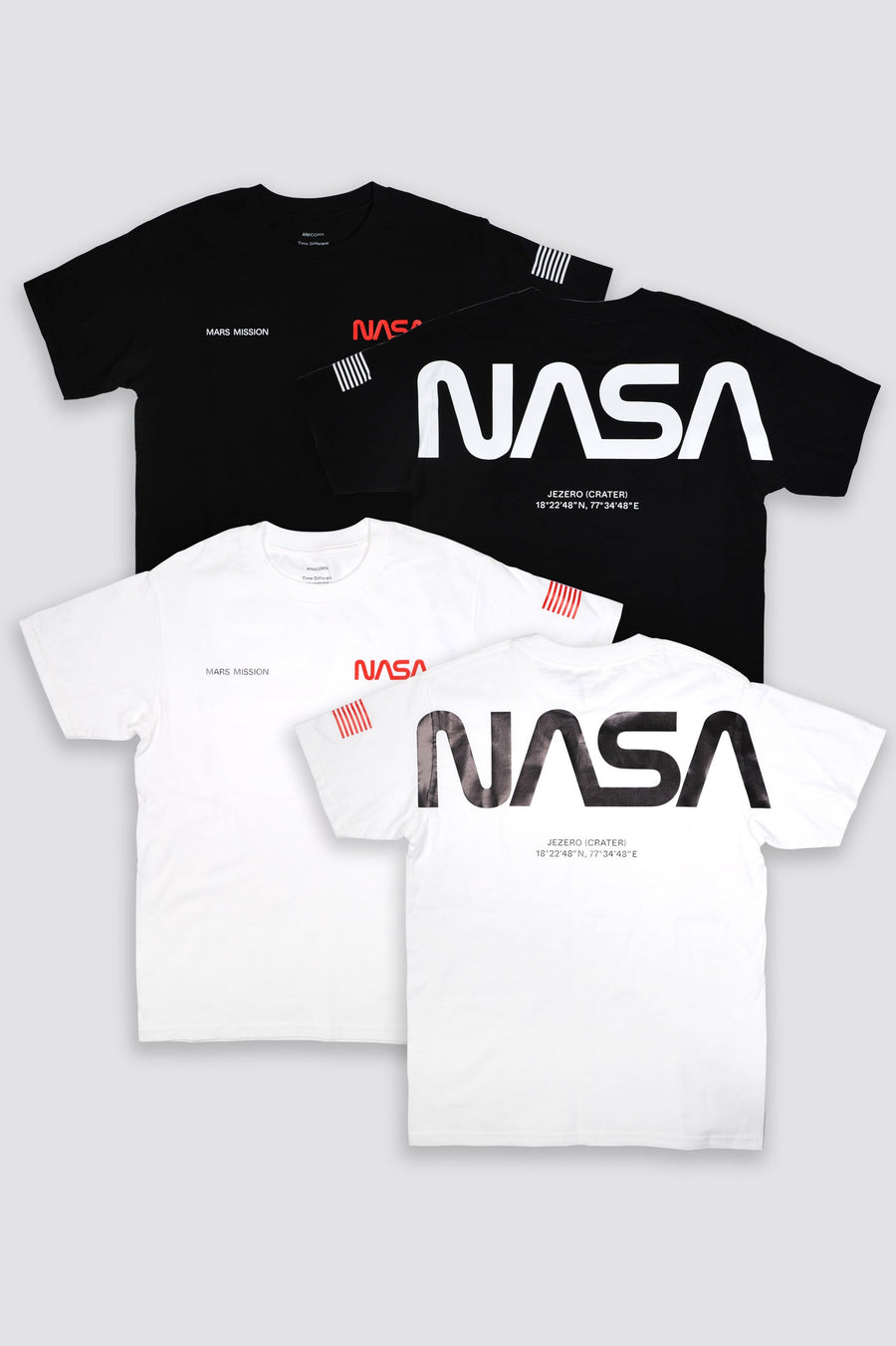 Nasa Mars Mission The Mars Wear T Shirt White