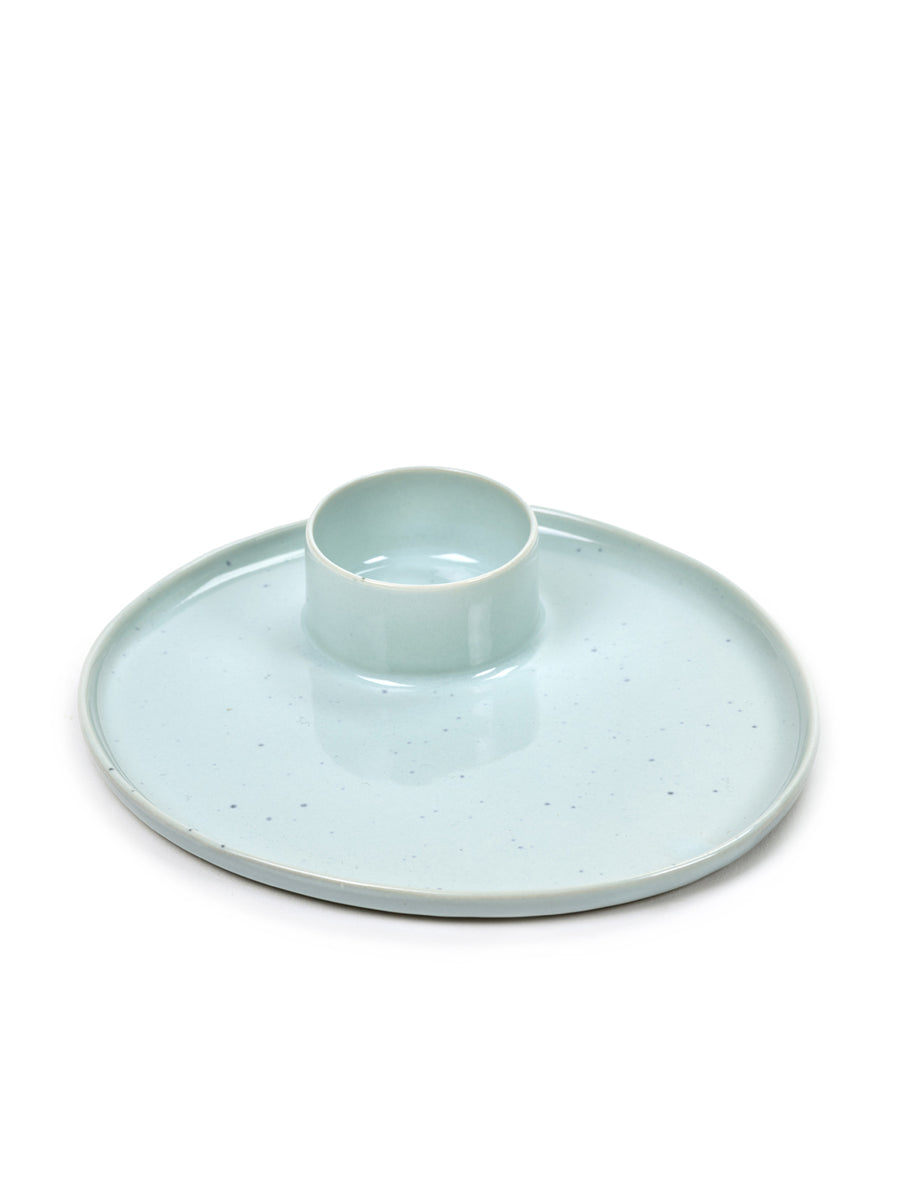 Tapas Plate Light Blue