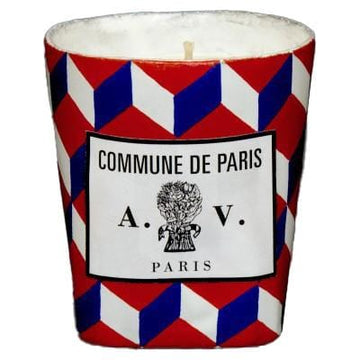 Scented Candle Tricolore Commune De Paris Ceramic