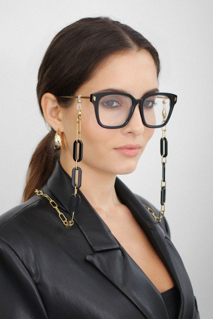 Glasses chain CH-E1 Kensington Black