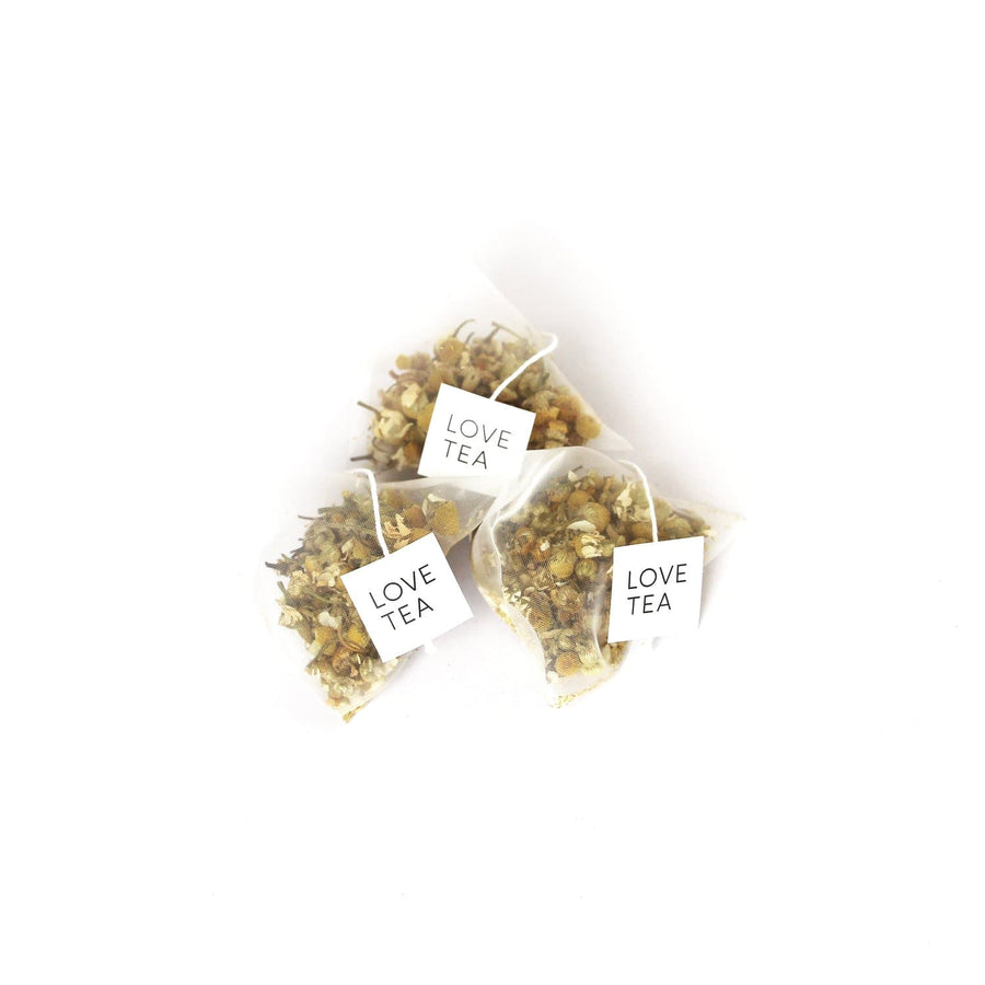 Love Tea Chamomile Pyramids 1 Box x 20 Pyramid Bags