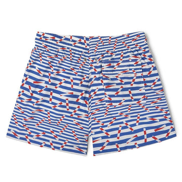 Classic Swim Shorts Bluesticks 20 X Camille Walala