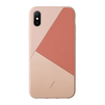 Clic Marquetry iPhone XS Case Rose