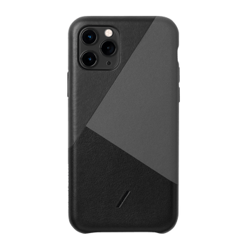 Clic Marquetry Iphone Case Black NP19S