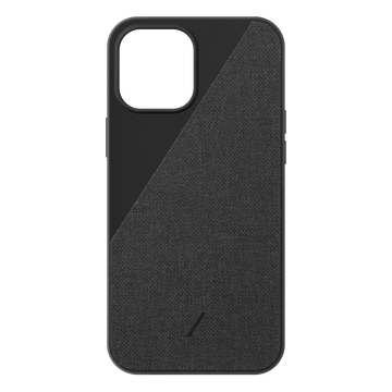 Clic Canvas Iphone Case Black iPhone 12 mini