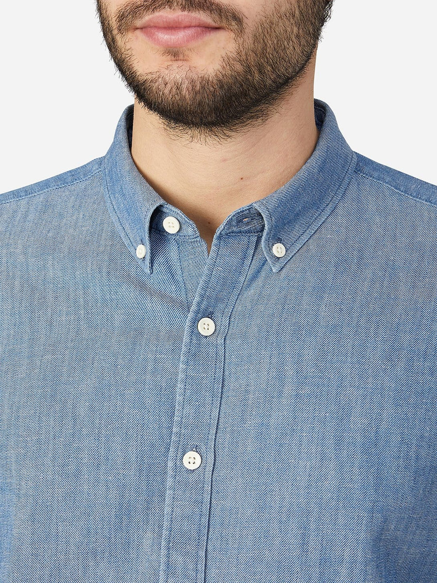 Shirts Fulton Light Indigo