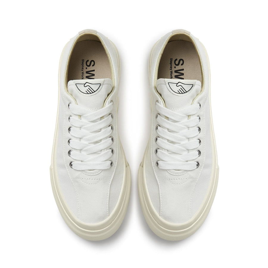 Dellow L Canvas White (Women)