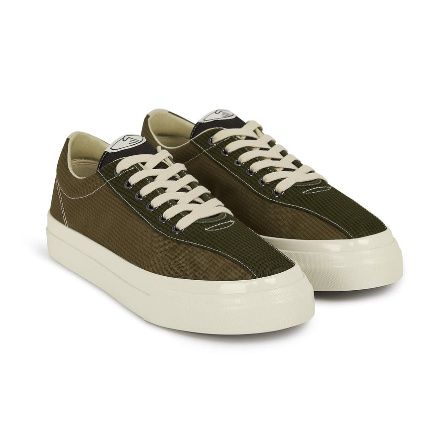 Dellow M Mini-Check Nylon Olive mix (Men)