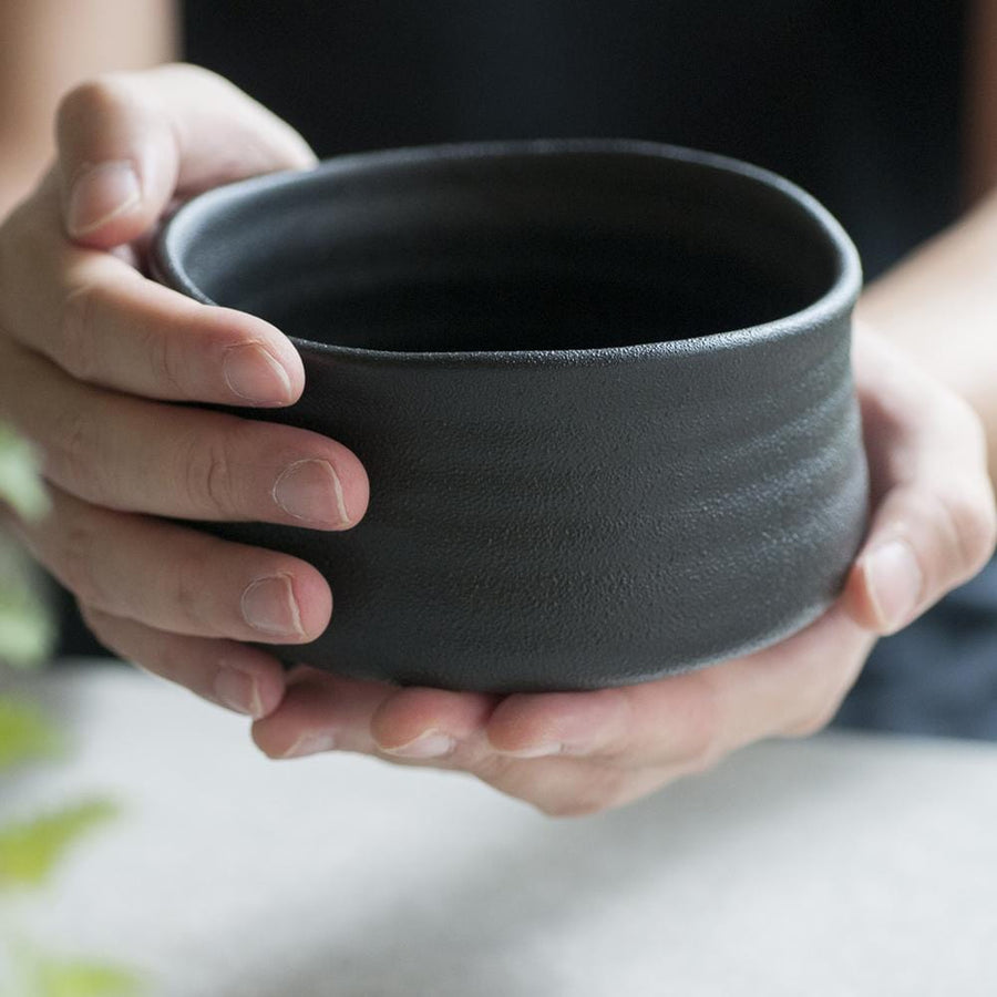Pro Tea Matcha Bowl Set Black