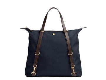 Ms Day Pack Navy/Dark Brown