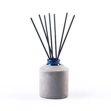 Local Red Clay Ceramic Diffuser - Blue/Wild Fig