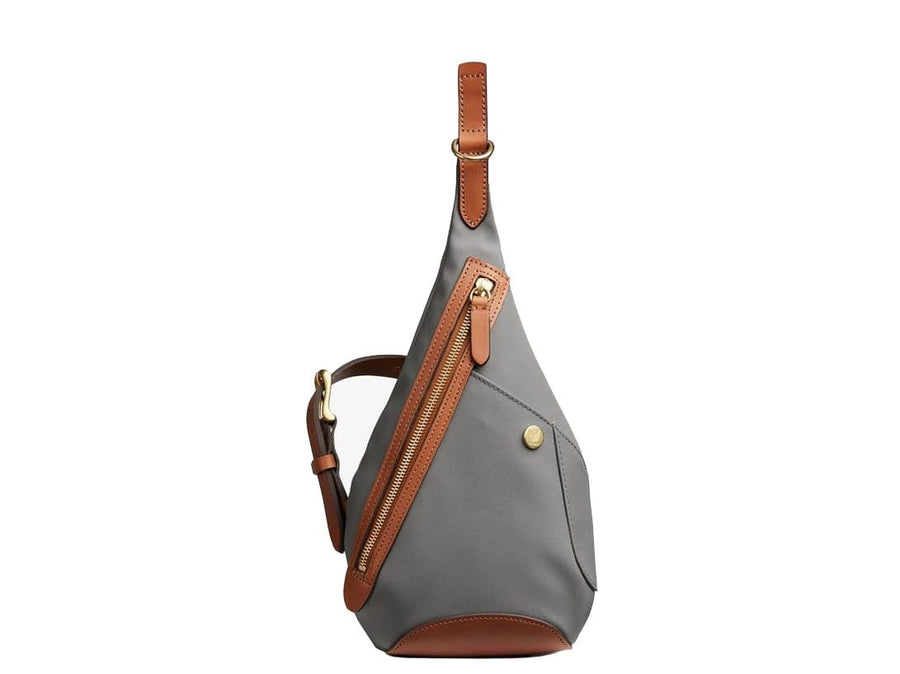 Mismo Drop Bag Concrete / Cuoio