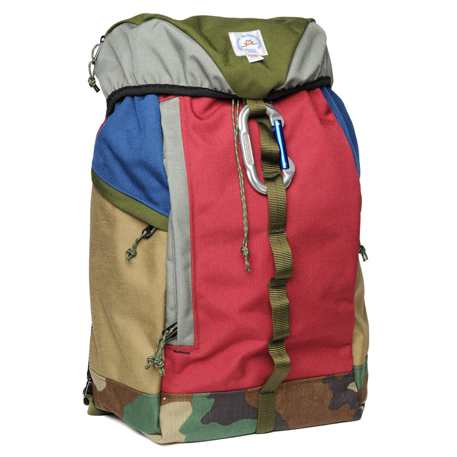 Climb Pack Moss/ Bordeaux Large