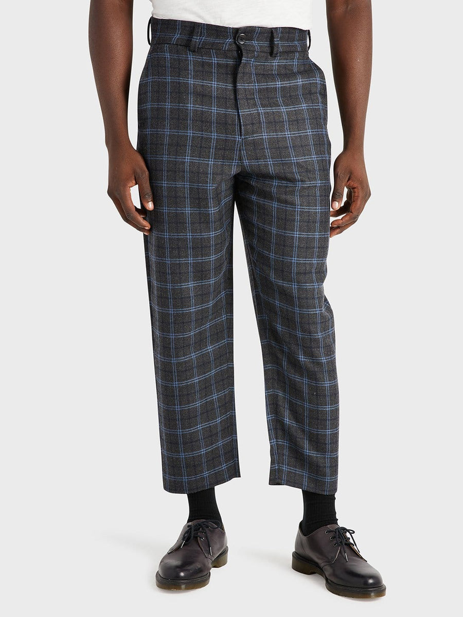 AW20 Pants Crosby Wool LT Grey Check